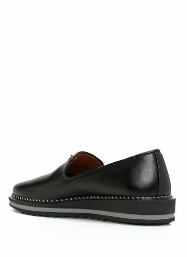 Giuseppe Zanotti Deri Ayakkabı Siyah